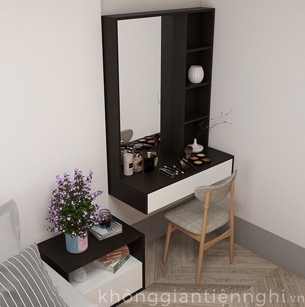 Bàn phấn trang điểm treo tường đẹp 012BTD468-19120