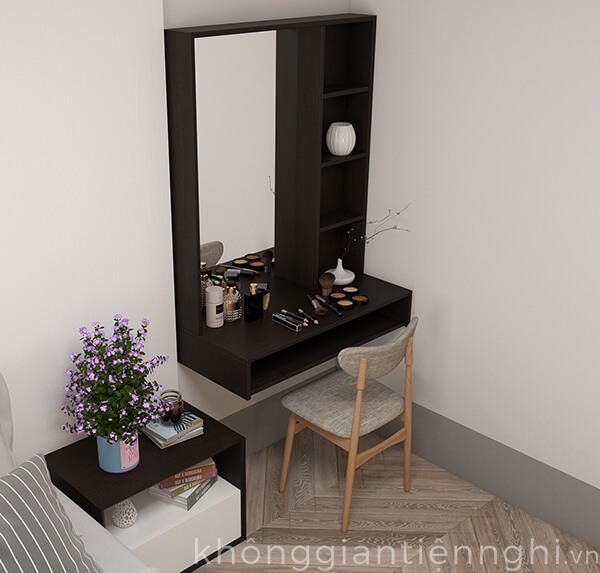 Bàn phấn treo tường bằng gỗ 012BTD468-19120