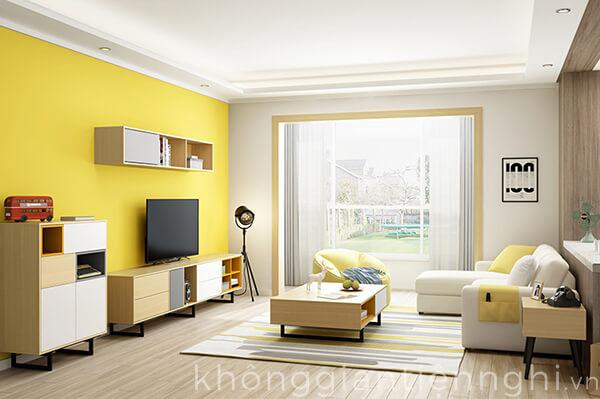 Bàn trà kệ tivi đẹp 012CPK-NortaPK07