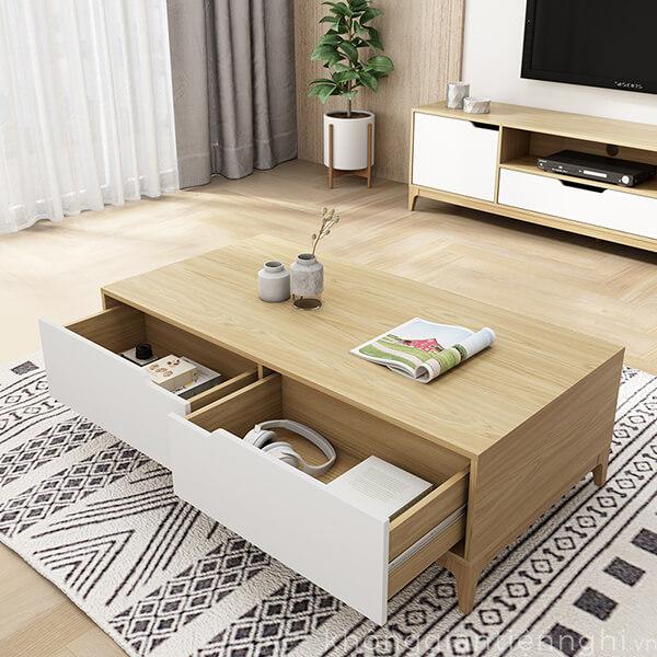 Bàn trà kệ tivi gỗ 012CPK-PK006