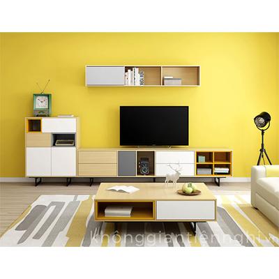Bàn trà sofa kệ tivi giá rẻ 012CPK-NortaPK07