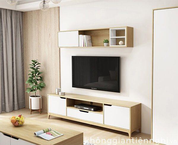 Bàn trà và kệ tivi cho chung cư 012CPK-PK006
