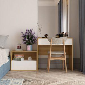 Bàn trang điểm bằng gỗ đẹp 012BTD468-010