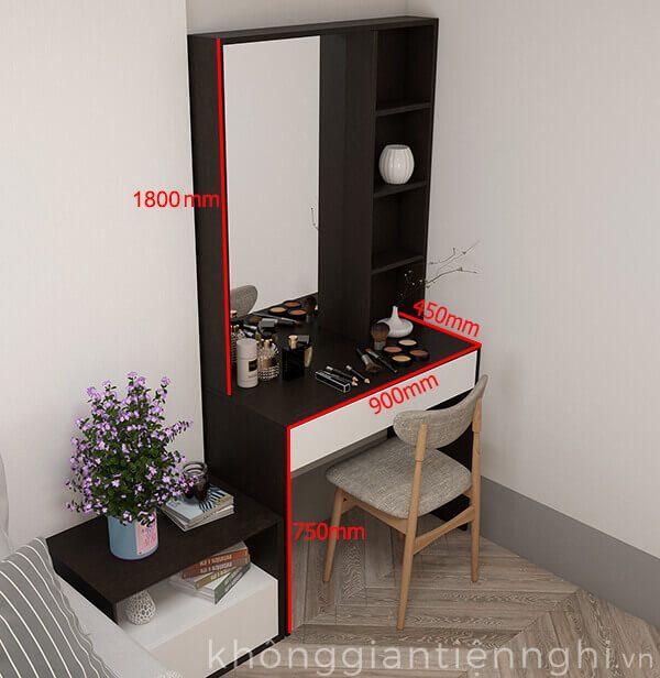 Bàn trang điểm đẹp bằng gỗ 012BTD468-19020