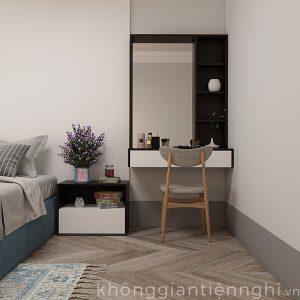 Bàn trang điểm treo tường đẹp 012BTD468-19120
