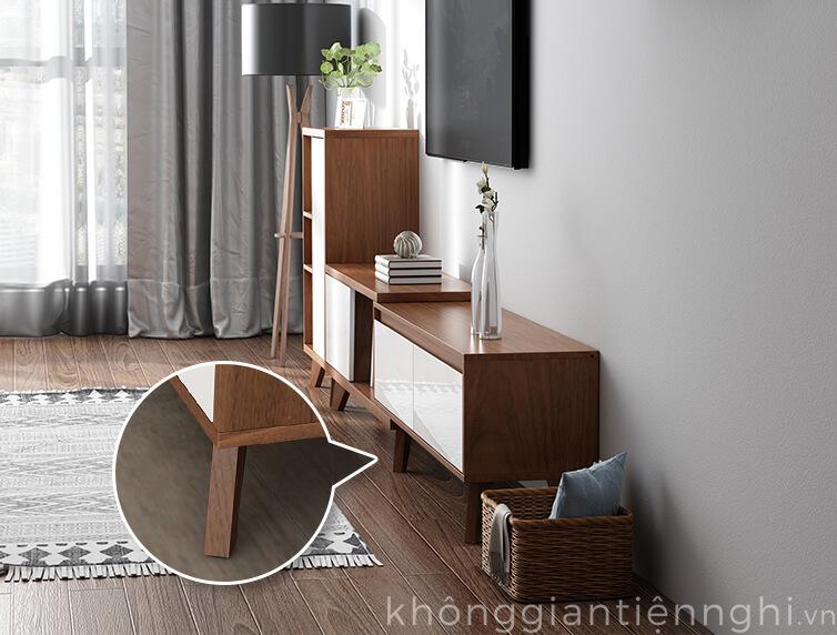 Bộ bàn trà kệ tivi hiện đại 012CPK-PK004