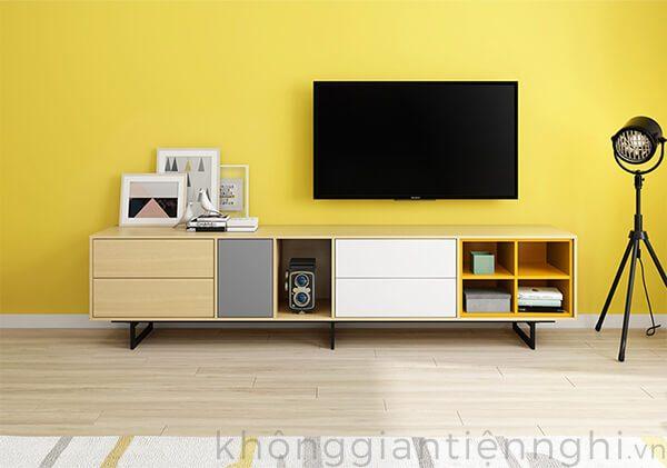 Bộ bàn trà kệ tivi phòng khách giá rẻ 012CPK-NortaPK07