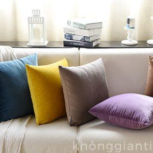 Gối tựa sofa đơn màu GSF001