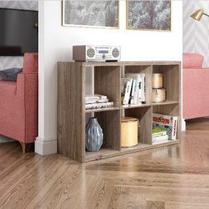 Kệ sách gỗ giá rẻ 2 tầng KSG216