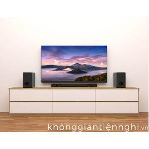 Kệ tivi đặt sàn bằng gỗ hiện đại 012KTV556-100