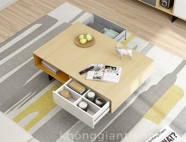 Kệ tivi và bàn trà sofa đẹp 012CPK-NortaPK07