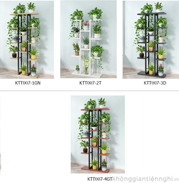 Kệ để trang trsi để cây xanh cho chung cư KTT007