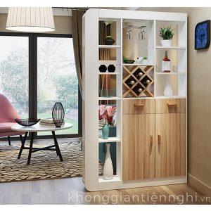 Tủ giày thông minh kèm kệ trang trí 012TG551-20