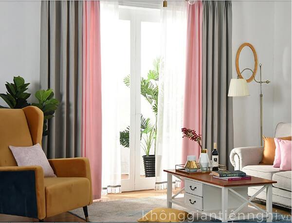 Rèm cửa bằng vải đẹp tại Hà Nội RC-V005