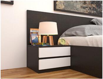 Tab đầu giường bằng gỗ hiện đại TDG004