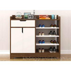 Tủ giầy gỗ công nghiệp đẹp 012TG551-12015