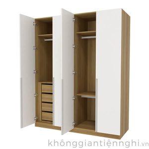 Tủ đựng quần áo bằng gỗ cao cấp 012QA268-141