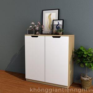 Tủ giày 2 cánh bằng gỗ 012TG551-08009