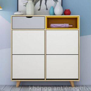 Tủ giày 2 tầng cánh lật hiện đại 012TG551-12006