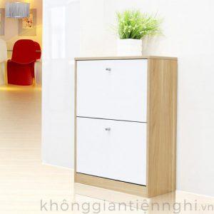 Tủ giày dép 2 ngăn đơn giản 012TG551-08001