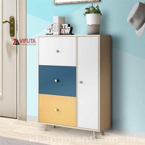 Tủ giày dép gỗ nhỏ gọn 012TG551-96004