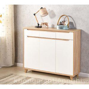 Tủ giày hiện đại bằng gỗ đẹp 012TG551-12014
