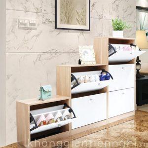 Tủ giày gỗ lắp ghép đa năng 012TG551-08003