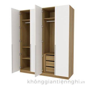 Tủ quần áo cao cấp 4 cánh 012QA268-131