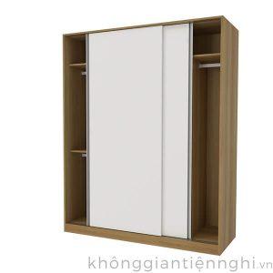 Tủ quần áo hiện đại 2 cánh lùa 012QA268-251