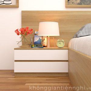 Tab đầu giường gỗ hiện đại đẹp 012TDG368-120
