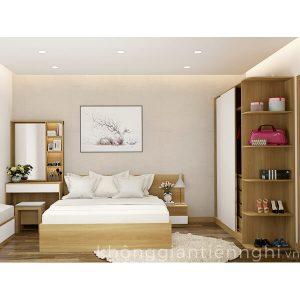 Bộ giường tủ phòng ngủ hiện đại Vifuta 012BPN05