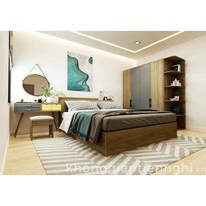 Bộ phòng ngủ cao cấp bằng gỗ 012BPN-NORTA02