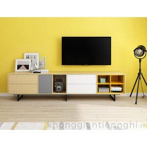 Kệ tivi hiện đại nhiều màu sắc 012KTV-NortaPK07