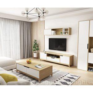 Bàn trà sofa hiện đại có ngăn kéo 012BT-PK006