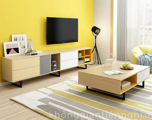 Bàn trà sofa cho phòng khách hiện đại đẹp 012BT-NortaPK07