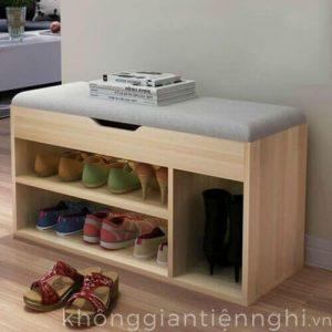 Tủ giày 1 tầng kết hợp ghế ngồi 012TG551-08120