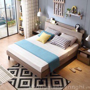 Giường ngủ gỗ phong cách hiện đại 012GN168-210