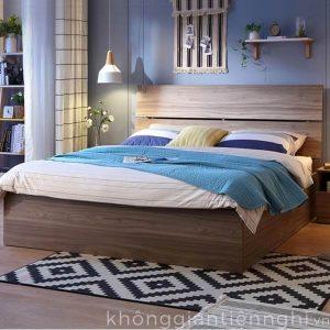 Giường ngủ hộp phong cách Bắc Âu cho chung cư 012GN168-211
