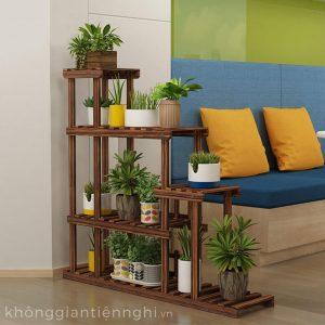 Kệ để chậu hoa cây cảnh trang trí trong nhà ban công KGTN-011KTT012
