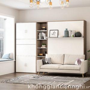 Giường đa năng kết hợp ghế sofa cho phòng khách nhà nhỏ 012GN333-V150SF