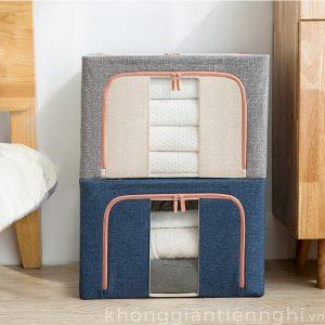 Túi hộp đựng đồ bằng vải gấp gọn KGTN 011HCD002