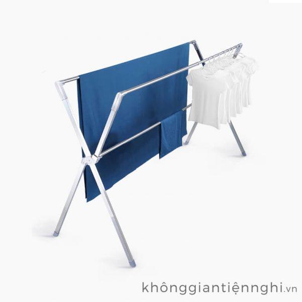 Giàn phơi quần áo dùng được cho ngoài trời và trong nhà chịu trọng tải lên đến 200kg